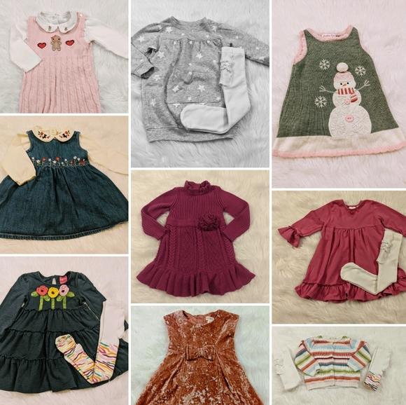 Baby Girls 18 months Winter Dresses